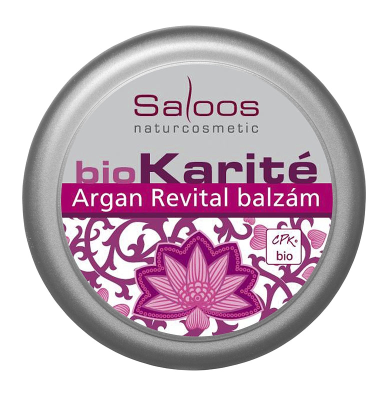 Saloos Bio Karité balzám Argan Revital - 19ml