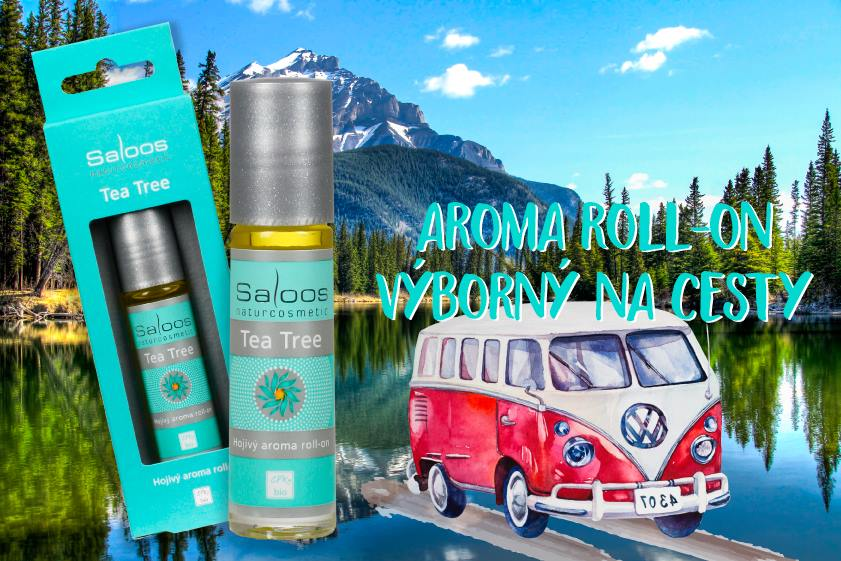 Saloos Bio aroma roll-on Tea Tree